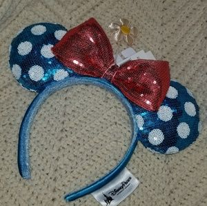 New with Tags Disney Parks Minnie Ears Headband